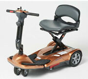 Ev Rider Transport Move Manual Folding Mobility Travel Scooter - Copper