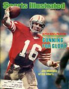 Joe Montana 1982 Sports Illustrated 1st Cover 1/25 Super Bowl Preview 49ers