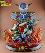 【in-stock】mrc Studio Gk Resin Dragonball Frieza And Giand039nyu Crew Limited Statues