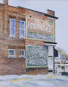 Coca Cola Ghost Sign - Hand Cut Wooden Jigsaw Puzzle By Bcb Puzzles