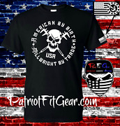 T Shirtmachinistamerican By Birth Machinist By Tradecncskullmicrometer