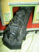 Vintage Marx Die Cast Steam Locomotive 666 And2 American Flyer Train Cars O Scale
