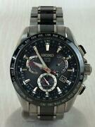 Seiko Astron Sbxb041 8x53-0ab0-2 Gps Stainless Solar Authentic Mens Watch Works
