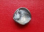 1916 Buffalo Coin, Error Struck Adhered To The Die Forming A Deep Bottle Cap