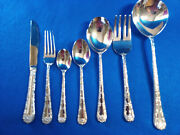 Wm Rogers And Son Is China Silverplate Flatware Enchanted Rose Pattern Choice Nm