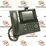 Lot Of 17 Cisco Cp-9971-c-cam-k9 Voip Ip Phone Color Touchscreen Usb Camera