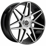 24 Gianelle Parma Machined 24x10 Wheels Rims Fits Benz G500 G550 G55 G63 G65