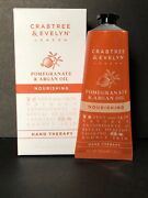 Crabtree And Evelyn Pomegranate And Argan Oil Nourishing Hand Therapy, Nib