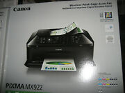 New Canon Pixma Mx922 Wireless Color All-in-one Inkjet Printer W/inks Free Ship