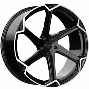 20 Giovanna Dalar-x Machined 20x10 Concave Wheels Rims Fits Ford Mustang Gt