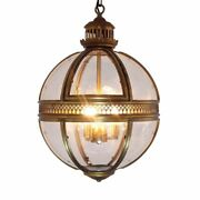 Hanging Lampshades Luminous Vintage Pendant Light Glass Cover Home Fixture Shade