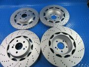 Mercedes W222 S63 S65 Amg Front And Rear Brake Disc Rotors Topeuro 7575