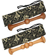 Tai Chi Qigong Ruler Martial Arts Tai Chi Sticks Kungfu Bang Polished Solid Wood