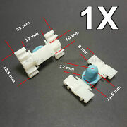 1x Door Fender Moulding Clip Retainer With Rubber Cap For Bmw E36 E46