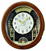 Seiko Melodies In Motion Evening At The Ball Animated Musical Wall Clock