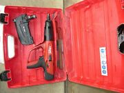 Hilti Dx 460 F10 And Mx72 Powder Actuated Nail Gun Kit Combo And Nice 855
