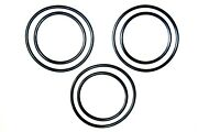 3 Set Replacement Drive And Power Feed Belts For Emco Unimat Db-200 Sl-1000 Lathe