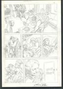 +++ Nicely Detailed Gene Colan Pencil Page From Spectre 2