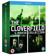 Cloverfield Collection Trilogy [movies 1-3] Blu-ray 3 Discs Region Free New