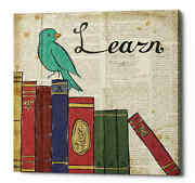 Epic Graffiti And039bird Inspiration Learnand039 By Elyse Deneige Giclee Canvas Wall Art