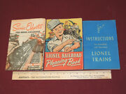 Vintage Lionel Books/instructions - Scenic Effects, Planning Book And Instructions