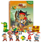 Jake And The Neverland Pirates My Busy Book + 12 Character Figurines And Playmat