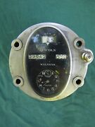 Complete Antique Lincoln Speedometer With Waltham 8 Day Clock