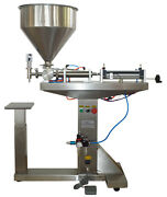 Paste Liquid Filling Machine For 30-300ml Capacity Floor-standing Packing Device