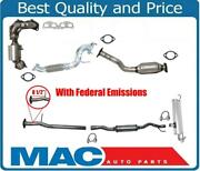 Full Exhaust System For 08-13 Rogue Federal Emissions All Wheel Drive Model Only