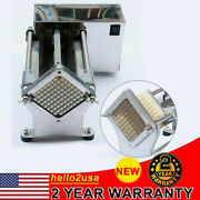 Us Stainless Steel 60w Electric French Fry Cutter Potato Strips Fries Chip Maker