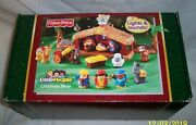 New  Fisher Price Little People Christmas Story Lights And Sounds Nativity Set