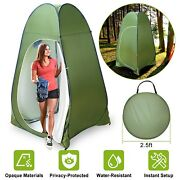 Outdoor Pop Up Privacy Tent Shelter Dressing Changing Room Shower Toilet Tent Us