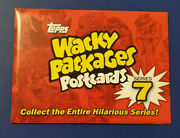 2011 Wacky Packages Postcards Series 7 Complete Autograph Sealed Set
