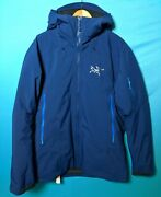 Arcteryx Fissile Mens Large Triton Weatherproof Gore-tex Down Insulated Jacket