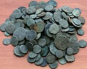 Lot Of 250 Ancient Roman Imperial And Provincial Bronze Uncleaned Coins