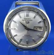 Seiko Sportmatic 5 7619-9060 Day Date Deluxe Antique Automatic Mens Watch