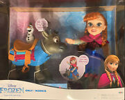 Disney Frozen Anna Doll With Sven And Olaf
