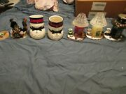 Yankee Candle Christmas Shades W/plates
