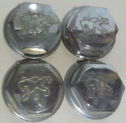 Peugeot Hub Cap Center Wheel Caps Dust Cover Oem Vintage 80and039s Cosmetic Wear