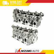 Left And Right Cylinder Head Fit 88-95 Toyota 4runner Pickup 3.0l Sohc 3vze