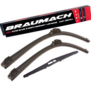 Front Rear Wiper Blades For Holden Astra Ts Convertible 2.2 I 2002-2006