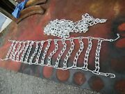 Tire Chains Gravely Tractor Snow Blower 4.00 4.80 X 8and039and039 Garden Tractor