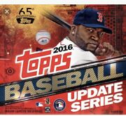 2016 Topps Update If Buy 7 Get Free Bubble Mailer W/tracking Set Pick Your Card