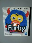 New In Package Furby Party Rockers Creature Blue 2012