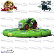 16ft Inflatable Tractor Manual Human Bull Riding Game With Air Blower
