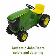 John Deere Pedal Powered Tractor Kids Ride-on Toy Tractor Green
