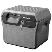 Sentrysafe Fhw40100 Fireproof Box And Waterproof Box With Key Lock 0.66 Cu Ft