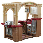 Step2 Grand Walk-in Kitchen And Grill With 103 Piece Food Accessory Set