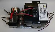 Square D Motor Starter, With Overload Relay, 8536se01h10s, Series A, 3 Poles