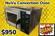 Nu-vu Xo-1 - Tabletop Electric Convection Oven - 120v - Working